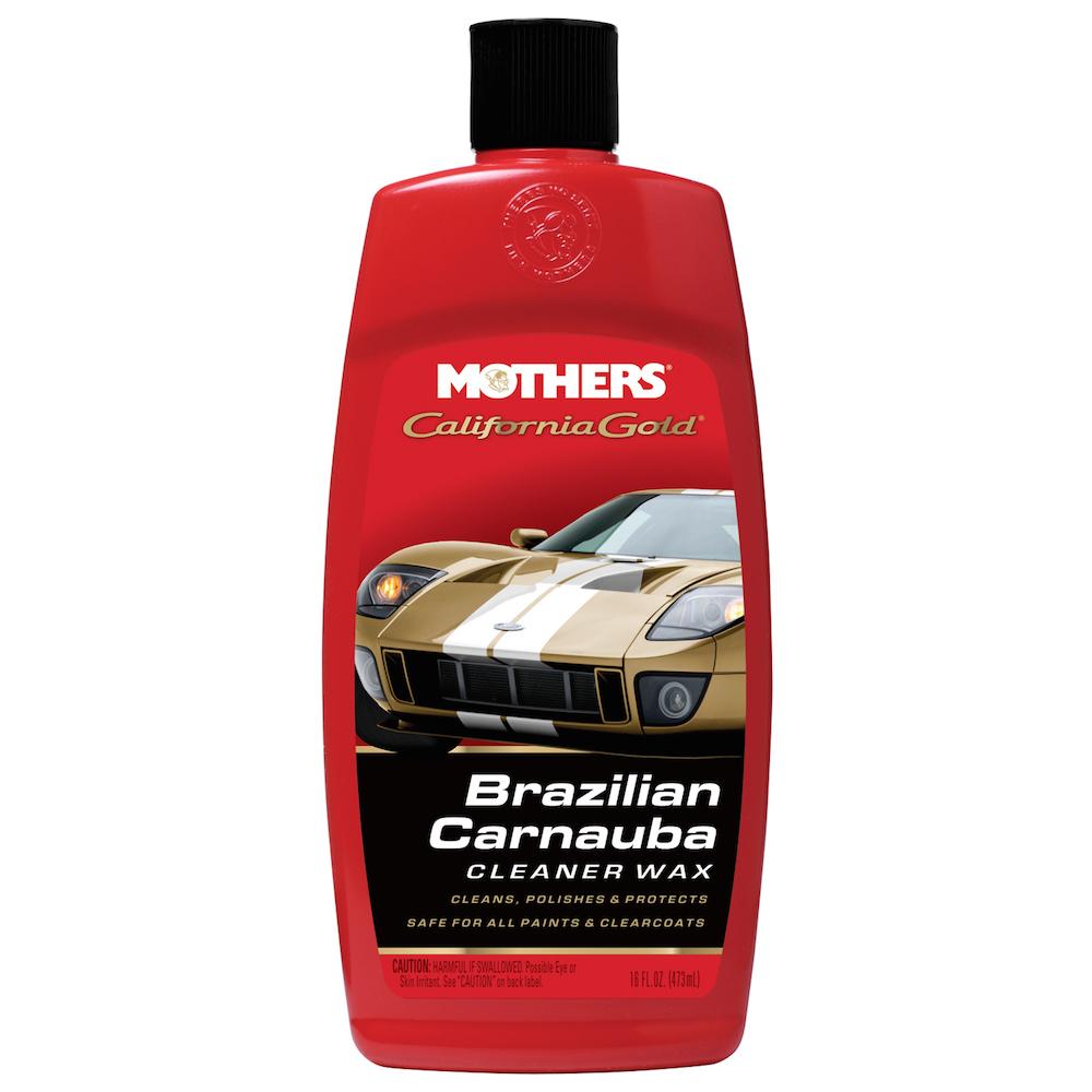 California Gold Brazilian Carnauba Cleaner Wax Liquid 473ml
