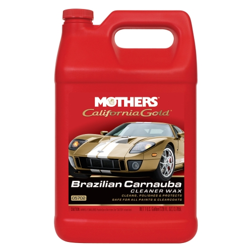 California Gold Brazilian Carnauba Cleaner Wax Liquid 3.785L