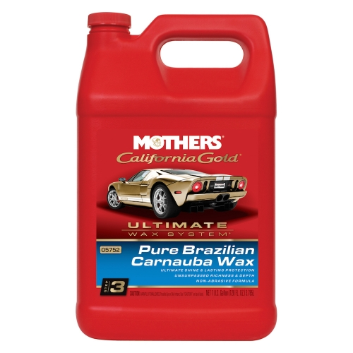 California Gold Pure Brazilian Carnauba Wax Liquid 3.785L