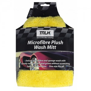 Microfibre Plush Wash Mitt