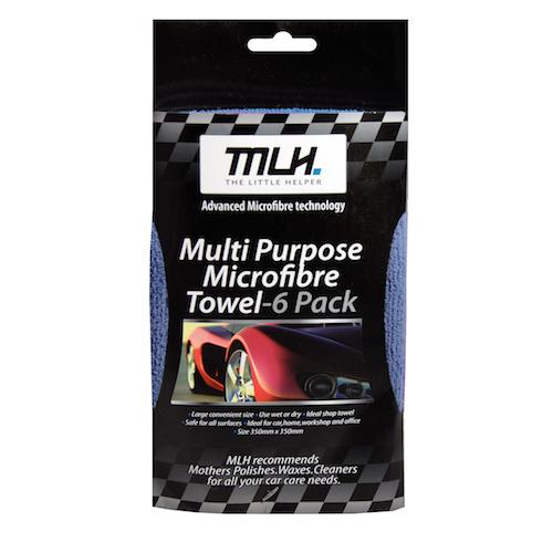 Microfibre Towel - 6 Pack