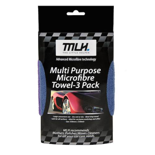 Microfibre  Towel - 3 Pack