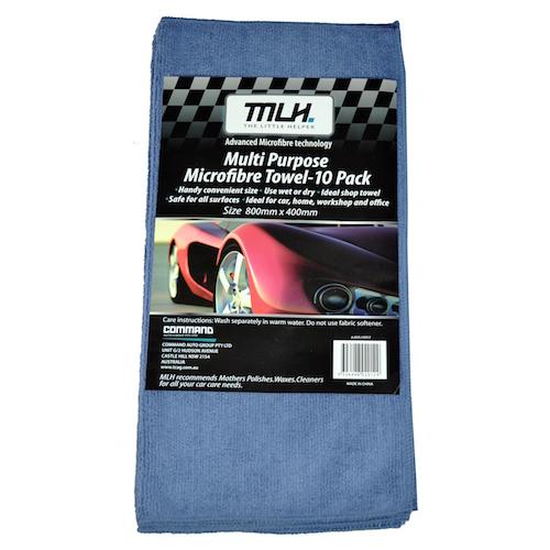 Professional Microfibre Towel - 10 Pack