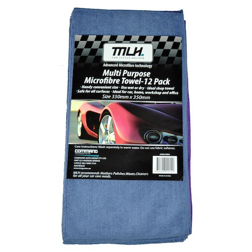 Microfibre Towel - 12 Pack