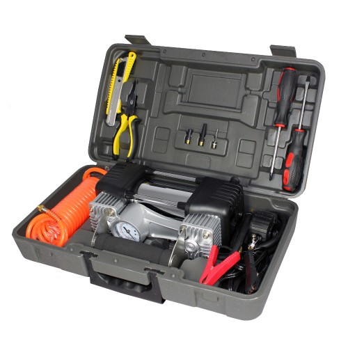 Air Attack Air Compressor & Tool Kit