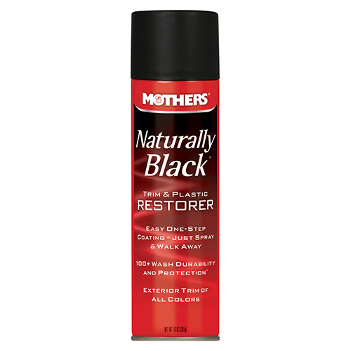 Naturally Black® Trim & Plastic Restorer - Aerosol