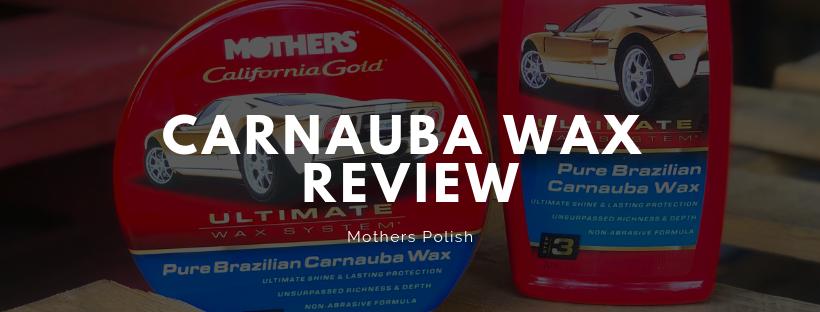Pure Brazilian Carnauba Wax Review